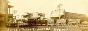 old fashion photo of town